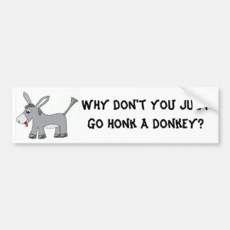 Donkey Honk Bumper Sticker