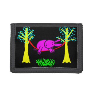 donkey in hammock wallet