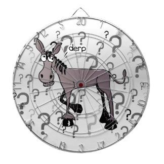 Donkey interrogation derp dartboard