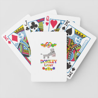 Donkey Lover Poker Deck