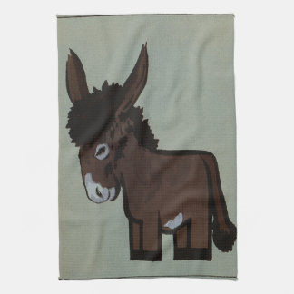 Donkey or Burro Template Kitchen Towel