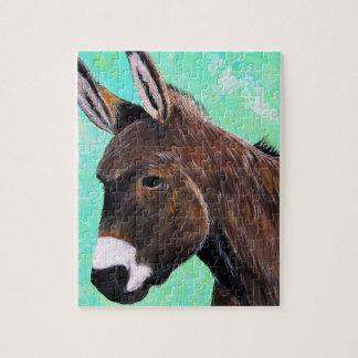 Donkey Painting Jigsaw Puzzle