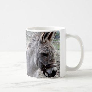 Donkey photography coffee mug