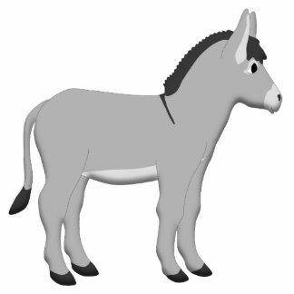 Donkey Photo Sculpture