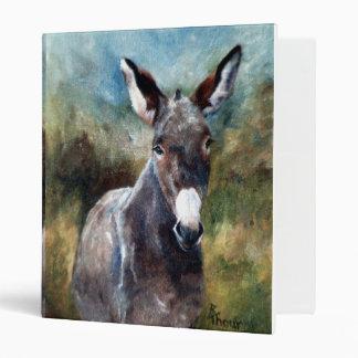 Donkey Portrait Binder