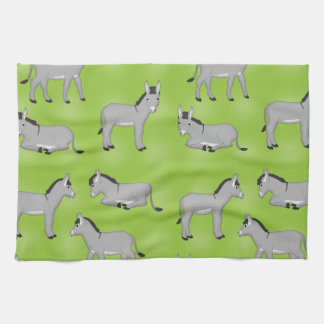 Donkey selection towels