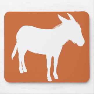 Donkey Silhouette Mousepad