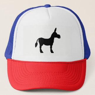 Donkey Silhouette Trucker Hat