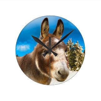 Donkey Wallclocks