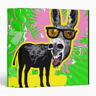Donkey Wearing Sunglasses Binders