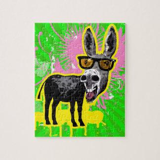 Donkey Wearing Sunglasses Puzzle
