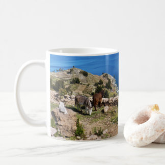 Donkeys' paradise coffee mug