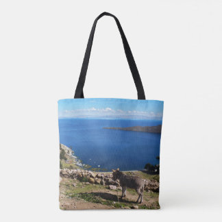 Donkeys' paradise tote bag