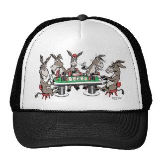 Donkeys play'in Poker Trucker Hat