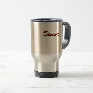 Donna Customized Travel Mug