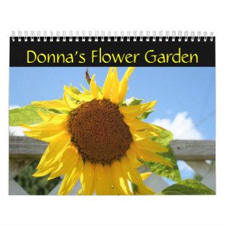 Donna's Flower Garden Calendar