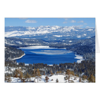 Donner Lake California Card