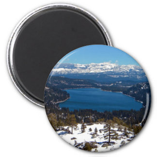 Donner Lake High Sierras Magnet