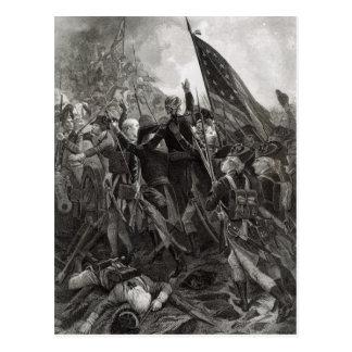 Donner l'assaut à du point pierreux, juillet 1779 carte postale