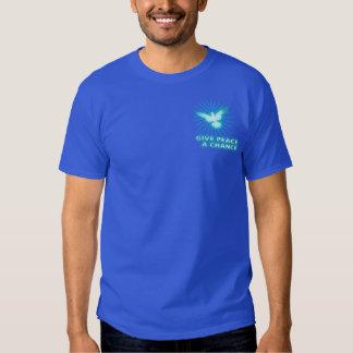 Donnez à paix une occasion tee shirt