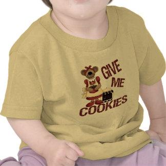 Donnez-moi les biscuits t-shirts