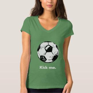 Donnez- un coup de piedmoi T-shirt du V-Cou des