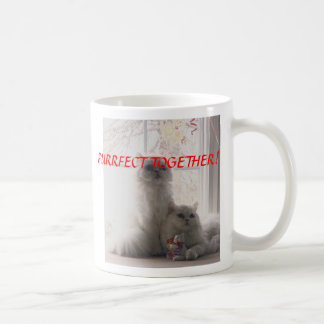 donnyandphoebevalentine, PURRFECT TOGETHER!, KI... Coffee Mug