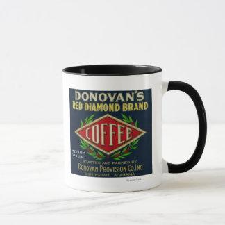 Donovan's Coffee LabelBirmingham, AL Mug