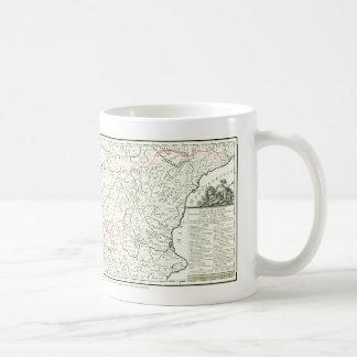 DONQUIXOTE ROUTE Map - TAZA- Cervantes Coffee Mug