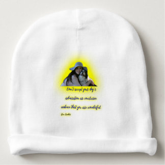 Don't accept your dog's admiration baby beanie