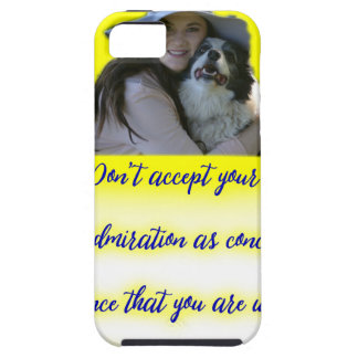 Don't accept your dog's admiration iPhone 5 cover