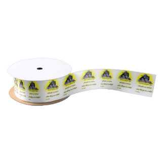 Don't accept your dog's admiration satin ribbon