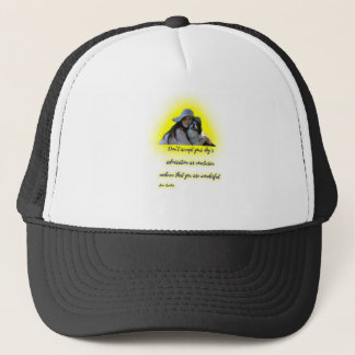 Don't accept your dog's admiration trucker hat