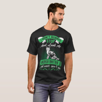 Dont Always Look At American Shorthair Cat I Do T-Shirt