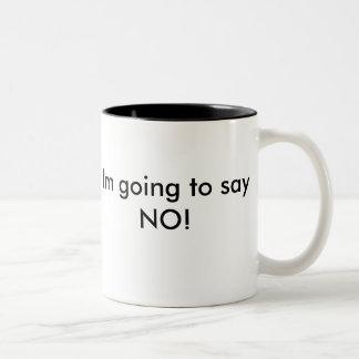 Don't ask Two-Tone coffee mug