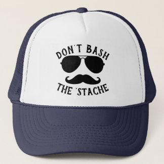 Don't Bash the Stache Trucker Hat