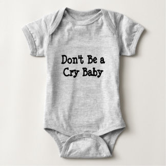 Dont Be A Cary Baby onsie Baby Bodysuit