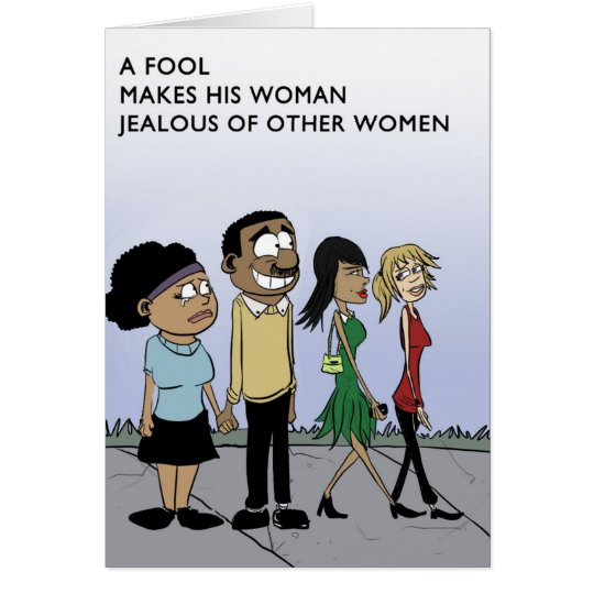 Don't Be A Fool Card