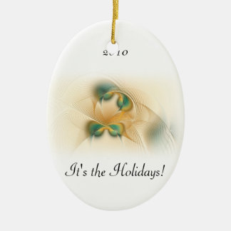 Don't Be Sad Oval Ornament