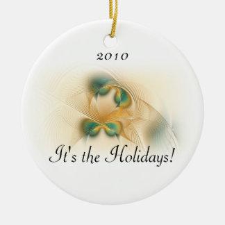 Don't Be Sad Round Ornament
