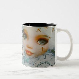 Don't Be Ugly Two-Tone Coffee Mug