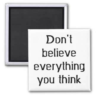 don't believe everything magnet