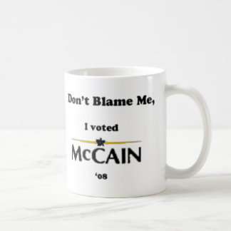 don't blame me coffee mug