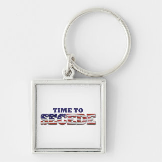 Don't Blame Me I Voted for MITT Silver-Colored Square Keychain