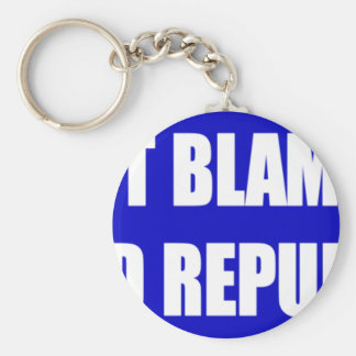 Don't Blame Me I Voted Republican Keychain