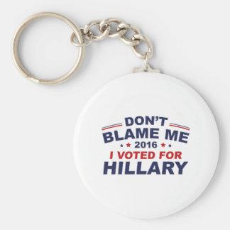 Don't Blame Me Keychain