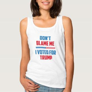 Don't Blame Me Tank Top