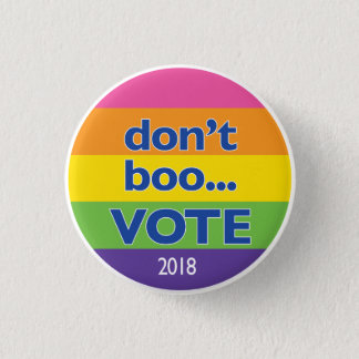 Don't Boo...VOTE button