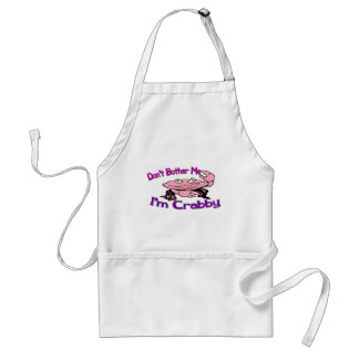 Don't bother me I'm crabby Standard Apron