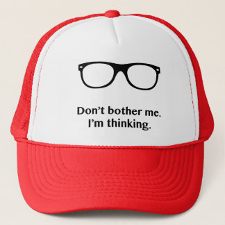"""Don't Bother"" Trucker Hat"